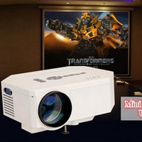 Wholesale UC30 HD Home Theater MINI Projector For Video Games TV Movie D Smart HDMI VGA AV USB SD TV Portable for IOS Android Phone PC
