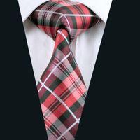 best wool yarn - Best Man Plaid Silk Tie Jacquard Woven cm Width Mens Necktie Business Casual Party Formal D