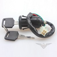 Wholesale Brand New Copper Cylinder Motorcycle Wire Ignition Switch Lock with Key ATV Dirt Bike