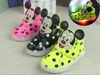 beauty dmx - Fashion boys tenis girls trainer luminous sneaker beauty children flashing kids led lighting child casual shoes