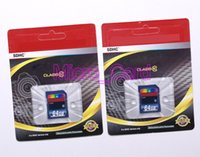 Wholesale DHL GB GB GB GB Card Class Micro SDHC Memory SD Card For Digital Camera Camcorder Drive Recorder Flash SD Card MB S