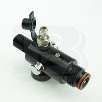 Wholesale New PSI Paintball Airsoft HPA Air Tank Regulator Output Pressure PSI UNF Hairline Finish Black