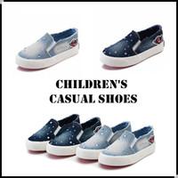 Unisex girl shoes - 2016 Kids Casual Canvas Shoes Children Fashion Designer Shoes Girls Boys Shoes Children s Leisure Shoes KW SH011