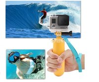 Wholesale High Quality Underwater Diving Rockered Bobber Advanced Floating Handheld Grip Monopod Stick Floaty Wrist Strap for Gopro Hero1 Camera