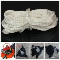 Cheap 1 X 4mm*5m Nylon White Pull Starter Recoil Start Cord Rope For Most Lawnmower