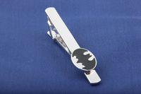 Wholesale Statement Jewelry Movie Jewelry League of Avengers Super Hero Tie Clips Men s Jewelry Tie Clips Silver Batman Metal Tie Clips Accessories