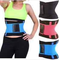 Wholesale 5 Colors S XL Xtreme Thermo Power Hot Body Shaper Girdle Belt Waist Cincher Underbust Control Corset Firm Waist Trainer Slimming Belly