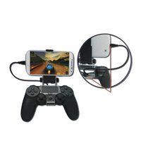 best games mobiles - Best sell DOBE Brand New Cheap Gaming mobile Phone Holder plastic Clamp For ps4 wireless game controller with OTG cable cm