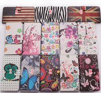 leather owl purse - Butterfly Eiffel Tower Owl Flower USA UK Flag Zebra Wallet PU Leather ID Card Stand pouch case Purse Money For Huawei Ascend G620S Skin