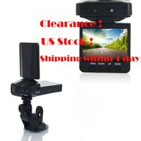 Wholesale Clearance quot TFT LCD Car DVR Recorder Focusing Adjustable Video Recorder LED Degree View Angle Rotatable IR Night Vision Recorder