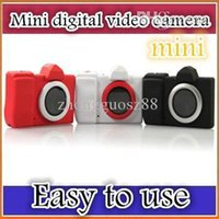 Wholesale DHL Mini micro DC children camera digital camera taking pictures fool DV video camera