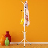 Wholesale Wrought Iron Coat Rack Hanger Creative Fashion Bedroom for Hanging Clothes Standing Clothes Rack