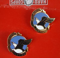 airborne badge - The metal badge US ARMY U S airborne division commemorative badge on a badge