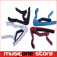 Wholesale Professional Guitar Capo Acoustic Electric String Trigger Change Tune Key Clamp MU0295