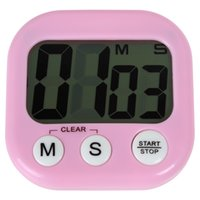 Wholesale 5pcs Large LCD Digital Kitchen Cooking Timer Loud Alarm Magnetic Count Down Up Stopwatch LIF_502