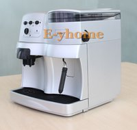 automatic coffee bean grinder - Full automatic Bar high quality Espresso coffee maker coffee bean grinder cappuccino coffee machine nice crema milk frother