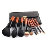 ancient tools - High Quality Makeup Brushes Goat Hair Make Up Brushes Portable Pincel Maquiagem Tools Mini Brushes Set Ancient Style