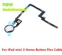 Wholesale For Ipad MINI New Home Button Key Flex Cable Ribbon Sensor Flex Connector for ipad mini