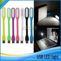 Xiaomi USB LED lámpara de luz LED de la lámpara flexible portable para el cuaderno del ordenador portátil PC de la tableta de corriente USB
