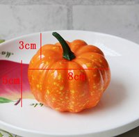 Wholesale package factory Realistic Fall Mini Artificial Pumpkins Foam Pumpkins Package of Pumpkins Inches Small Pumpkins