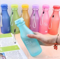 Wholesale Soda bottle leak proof sports water seal soda bottles eco friendly plastic cola water bottles readily cup