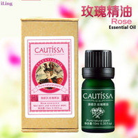 Cheap Wholesale-10ml rose pure essential oil for skin rejuvenation health and beauty care products