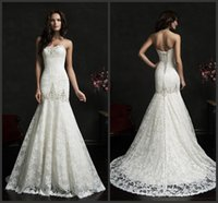 adora wedding dress - Adora Mermaid Wedding Dresses Sweetheart Sleeveless Bridal Gowns Amelia Sposa Crystal Beaded Embroidery Lace Up Back Sweep Train