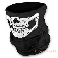 Wholesale Hot Selling Skull Design Multi Function Bandana Ski Outdoor Sport Motorcycle Biker Scarf Face Mask CS Cosplay Skull Magic Scarf