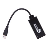 hdmi to usb converter - USB to P HDMI Adapter Converter Cable for HDTV Projector Monitor ABS HDMI Switch Switcher Video Converter V934