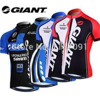 Cheap 2014 Giant men's cycling jersey jacket Sportswear top on Tour de France