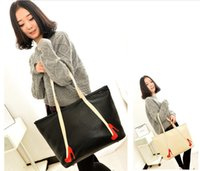 cheap branded bags - Women Shoulder Bags Lady Designer Handbags Brand New Fashion Leisure PU Shoulder Bag Cheap Light Simple Travel Handbag Retail