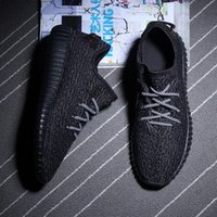 soles - RUNNING SHOES breathable casual ports shoes PU soles canvas PU sneakers men shoes fashion zapatos mujer yeezy boost