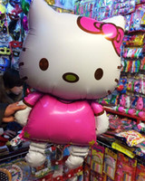 hello kitty balloons - Hello kitty ultra large pink balloons party balloons helium balloons wedding birthday gifts new christmas gifts toys for children