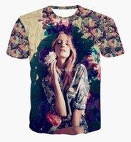 amanda clothing - tshirts SEXY Amanda Norgaard T Shirt clothes d printed Flowers graphics T shirt summer women college style tshirt top