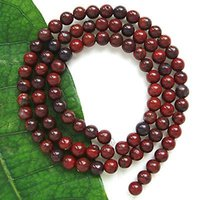 Wholesale natural Semi precious stone round beads MM round Poppy Jasper beads loose Natural Poppy Jasper round beads