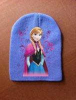 Cheap Girl Frozen hat Best Winter Knitting hat Frozen warm hat