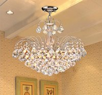 ceiling chandeliers - E14 Crystal Chandelier Modern Color Bedroom hotel Living Room Ceiling Lights Fixture Crystal Lighting