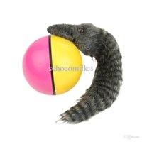 beaver dog toy - B39 newest Beaver Weasel Rolling Motor Ball Pet Cat Dog Kids Chaser Jumping Fun Moving Toy