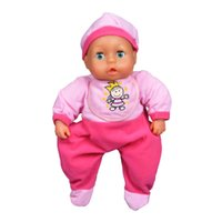 Cheap Retail 35cm Movable Eyes Reborn Doll Baby Toys For Girl Gifts Silicone Reborn Dolls Babies Bebe Reborn Movable Eye Sleeping Appease Kids Toy