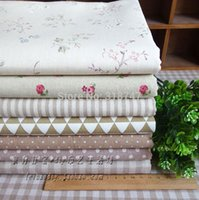 Cheap Free Shipping Wholesale Cotton Cloth Tablecloth Window Curtains Fabric DIY handmade quilts 026029063