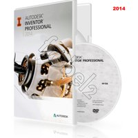 Wholesale 2014 new Autodesk Inventor Professional D CAD software English software for win os Color Box Package