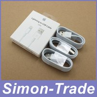 iphone 5 lightning cable - 1M Ft MFi Pin Pin Lightning to USB Cable Sync Data Cords Charger Line with Retail BOX for iPhone s s Plus s Plus IOS