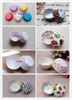 Baking Cups cupcake - Assorted Cupcake Muffin Cake Case Cup Baking Mould cm base
