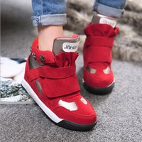 Wholesale Women shoes spring rivet color matching Velcro high fashion beautiful casual shoes for shoes