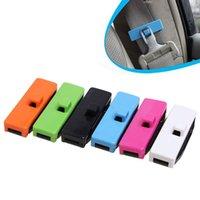 adjusting belt tension - 6 Colors Stylish Seat Belt Buckle Adjusting Clip Tension Adjuster For Car Pack of
