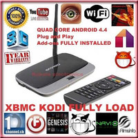 Cheap CS918 Android 4.4 Smart TV Box Q7 XBMC Quad Core 2G+ 8GB WIFI Antenna With Remote Control Full 1080P HD Media Player C S918 US EU AU Plugs