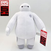 Cheap New 7'' 18cm Big Hero 6 Baymax Plush Toy ROBOT Chrismas Dolls Frozen OLaf Snowman Stuffed Animals Toys Baby Kids Doll Gift