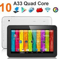 google android tablet - Google inch Quad core GHz Allwinner A33 Android tablet pc Capacitive GB GB Dual Camera HDMI Bluetooth USB OTG