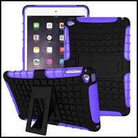 apple laptop pad - For iPad Mini Case Cover Laptop Accessory Heavy Armor Hybrid Silicone Hard Stand Wallet Pouch Bag For iPad Mini Pad Shell Free Ship