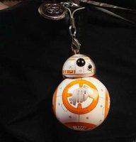 Wholesale Newest Star Wars The Force Awakens BB8 BB Droid Robot Action Figure PVC Pendant